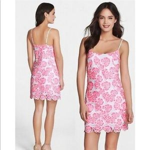 Lilly Pulitzer Beth Rose Lace Slip Dress